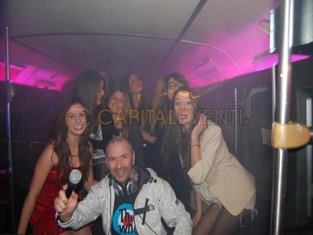 Festa in bus Inglese Roma 5