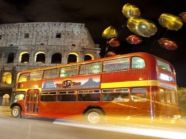 Festa in bus Inglese Roma