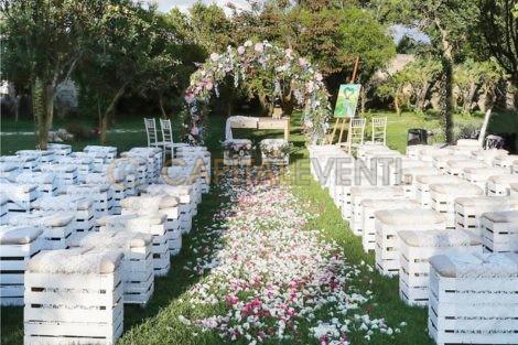 Come organizzare un matrimonio all'aperto in estate