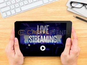 Trasmettere un evento in diretta streaming